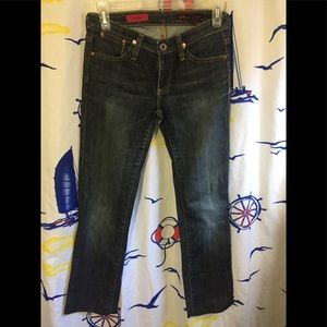 AG Adriano Goldschmied The Kiss Jeans Sz 24R